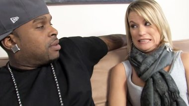 Cougar Jessie Fontana Loves Black Cock