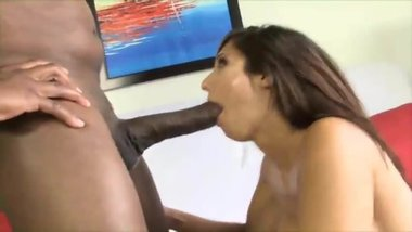Reena Huge BBC Blowjob