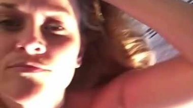 Reese Witherspoon laying on her bed, selfie vid