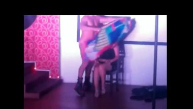 Male Stripper gives a lap Dance & get sucked at Girls Party
