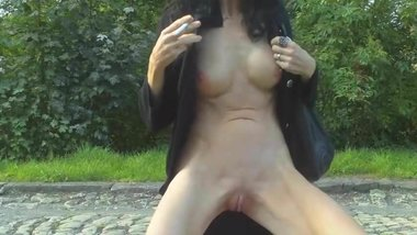 Fucked in a public park