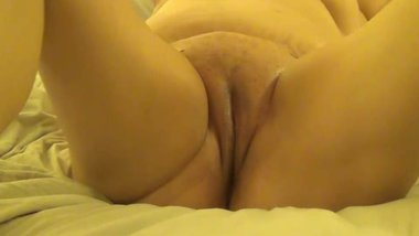 Horny girlfriend showing off for someone