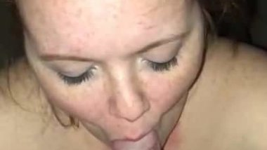 Girlfriend blow job cum in mouth