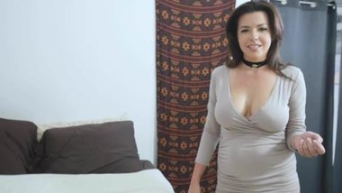 Stepmom Danica Dillon orally satisfied by her stepson