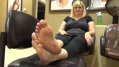 Chubby Blonde Feet and Soles