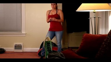 BRITISH STEP SISTER POV BLOWJOB
