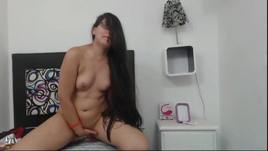 Sexy Colombian Hairplay and Striptease, Long Hair, Hair