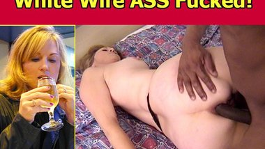 White Wife Jackie Ass Fucked and Pimped!