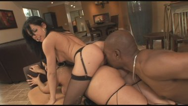 Rebeca Linares And Friend Share BBC And Offer Their Rectums.