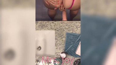 Riding my Suction Cup Dildo for You