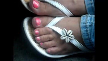 Jodi Samples Pink Toenails